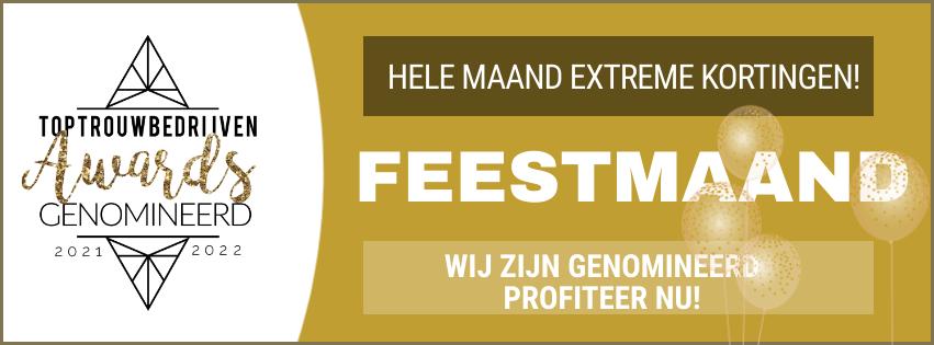 Beste Trouwringenwinkel Nederland Genomineerd