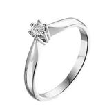 Witgouden Verlovingsring Diamant_