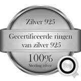 Verlovingsringen in het zilver_
