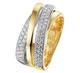 Ring diamant 0.57ct H SI_