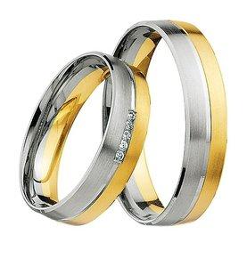 Bicolor Ringen | Luxe Trouwringen