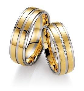 Gouden Bicolor Ringen