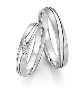 Bijzondere ringen witgoud