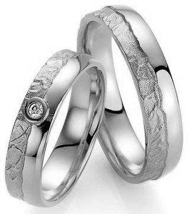 Zilveren verlovingsringen