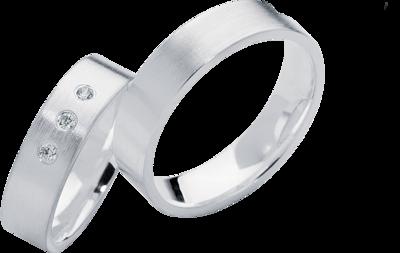 Zilveren trouwringen online