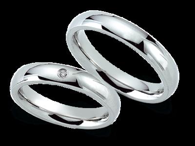 Verlovingsring/Trouwring van Staal