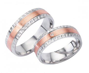 Goud en zilveren ringen