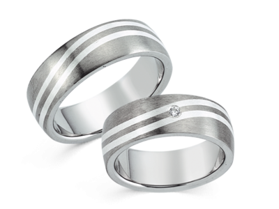 Titanium Ring Zilver