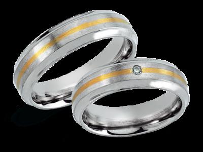 Titanium Trouw Ringen