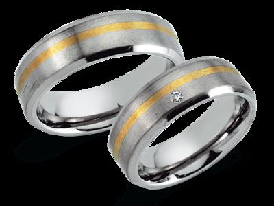Titanium Ring Goud