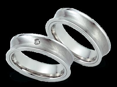 Goedkope verlovingsringen staal