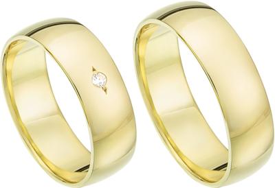Standaard geelgouden ringen