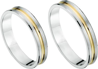 Goud en zilver ringen