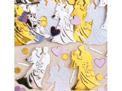 confetti Bruid en Bruidegom