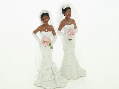 bruid Donker met Roze Rozen
