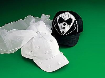 baseballcap wedding black