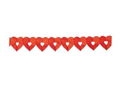 hartslinger open rood 6 meter