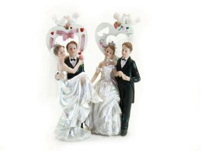 Bruidspaar met Hart en Duiven