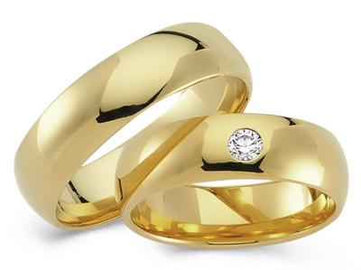 Klassieke Ringen Geelgoud