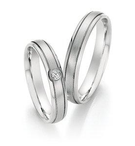 Sierlijke witgouden ringen