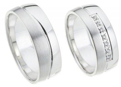 Witgouden ring 7 mm