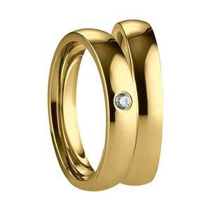 Stalen Ringen goud kleur
