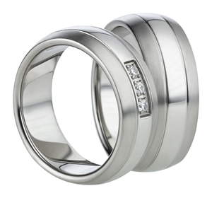 Titanium Ringen