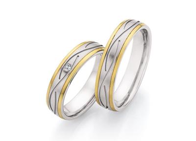 Goud met Stalen Ringen