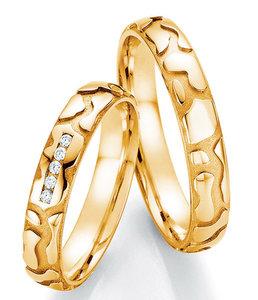 Bijzondere geelgouden ringen