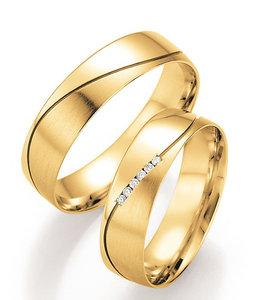 Mooie geelgouden trouwringen