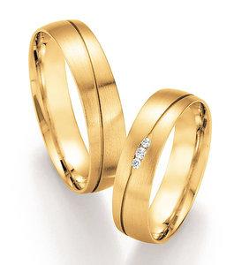 Ringen Geelgoud Diamant