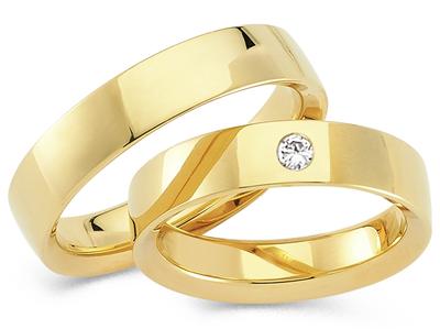 Klassieke Ringen geelgouden