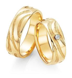 Stijlvolle ring met diamant