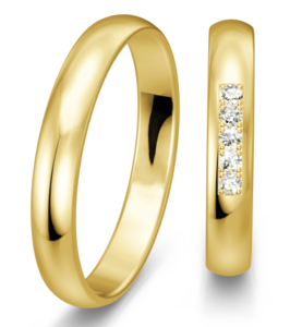 Klassieke Geelgouden Ringen