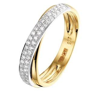 Ring diamant 0.29ct H SI