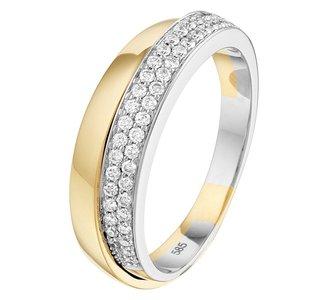 Ring diamant 0.28ct H SI