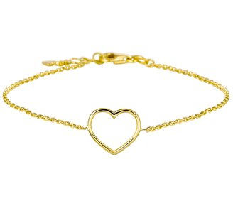 Armband hart 17 - 18,5 cm