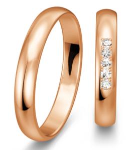Klassieke rosegouden Ringen