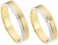 Goud-met-zilver-ringen